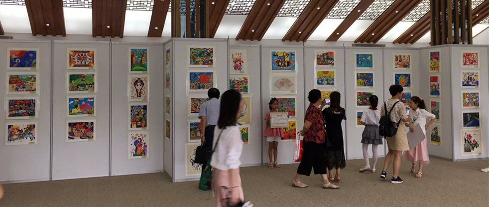 """必威体育官网网址冠名""""放飞中国梦 讴歌七十年""""少幼儿书画大赛取得圆满成功"""